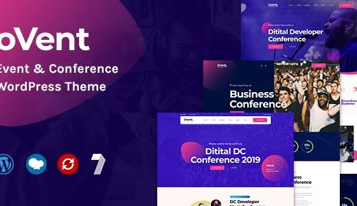 Ovent-Nulled-Event-&-Conference-WordPress-Theme-Download