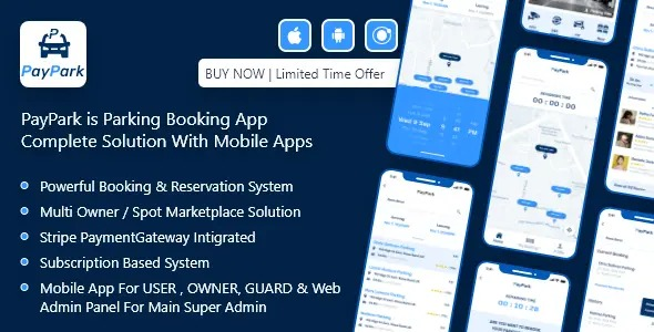 PayPark-Ultimate-Parking-Management-System-with-mobile-apps-and-Nulled-download