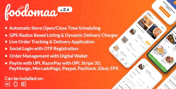 [Php]-Foodomaa-Nulled-Download