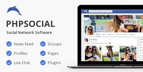 PhpSocial-Social-Network-Platform-Nulled-Download