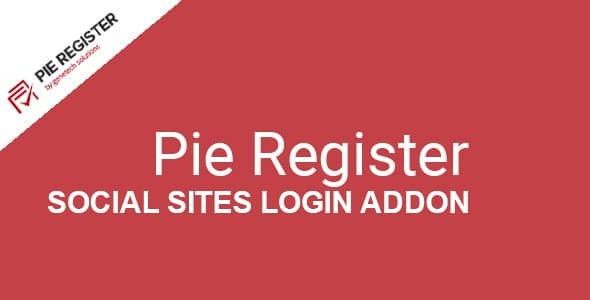 Pie-Register-Social-Sites-Login-Nulled-Download