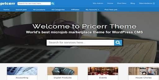Pricerr-Theme-Nulled-WordPress-Microjobs-Marketplace-Theme-Download