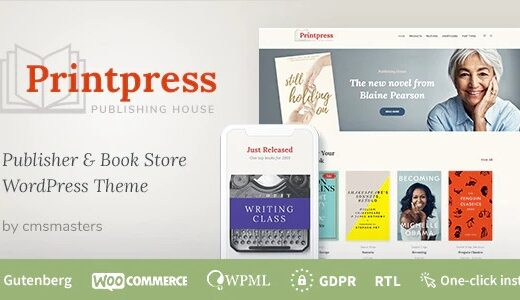 Printpress-Book-Publishing-WordPress-Theme-Nulled-download