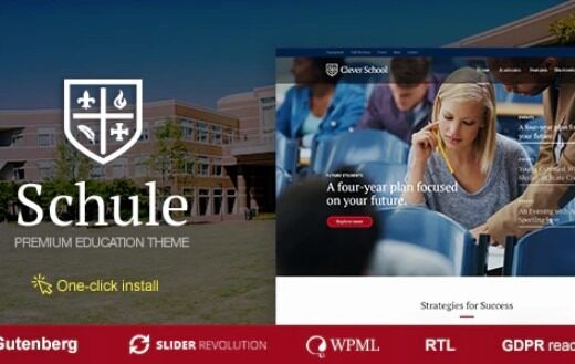 Schule-Nulled-School&-Education-Them-Nulled-Download