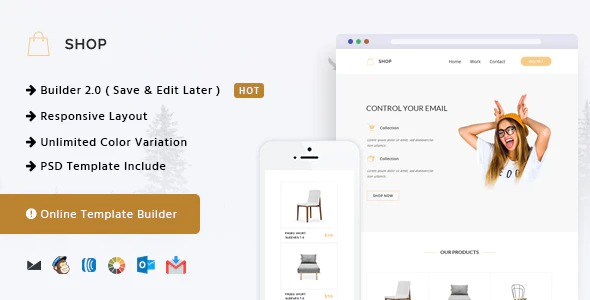 Shop-Responsive-Email+Online-Template-Builder-Nulled-Download