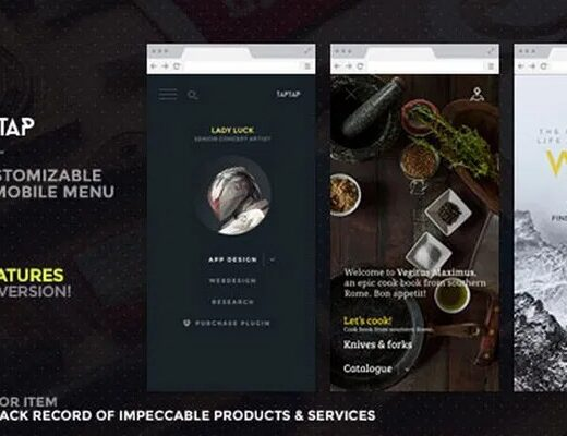 TapTap-A-Super-Customizable-WordPress-Mobile-Menu-Nulled-Download