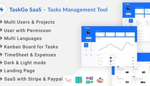 TaskGo-SaaS-NULLED-Task-Management-Tool-Download