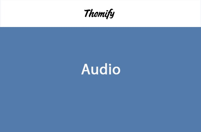 Themify Audio Builder Nulled