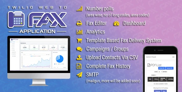 Twilio-WEB-To-Fax-Machine-System-Application-PHP-Script-Nulled-Download