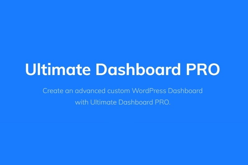 Ultimate-Dashboard-Pro-Nulled-Download