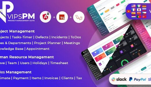 VipsPM-Project-Management-Suite-Nulled-Download