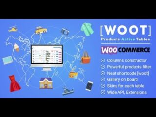 WOOT-WooCommerce-Products-Tables-Professional-Nulled-Download