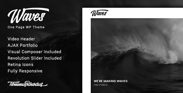 Waves-Video-WordPress-Theme-Nulled-Download