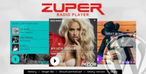 Zuper-Nulled-Shoutcast-and-Icecast-Radio-Player-With-History-Download