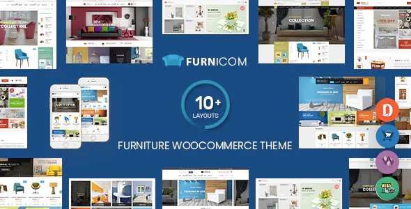 Furnicom - online store template for fittings and furniture