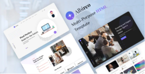 Albireo - Creative One Page HTML5 Template Nulled