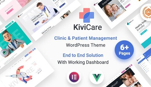 KiviCare – Medical Clinic & Patient Management WordPress Theme Nulled